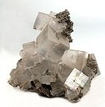 Halite crystal (macroscopic)