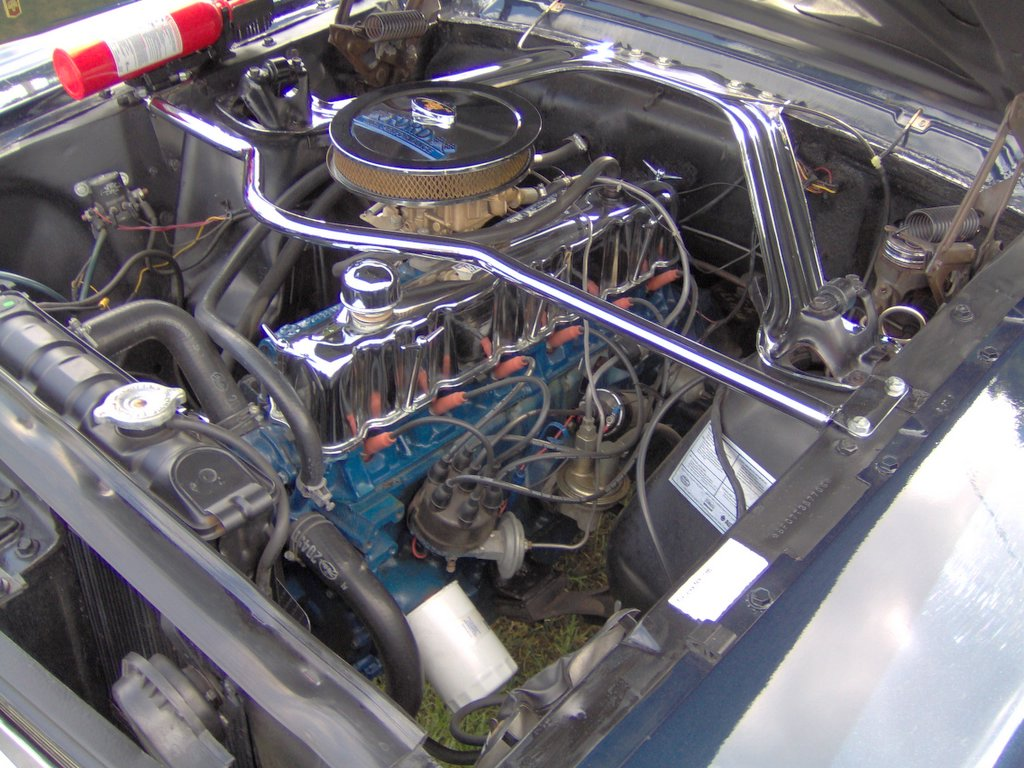 Ford Straight 6 Engine 1941 F100 V8 170 Six In A 1966 Mustang