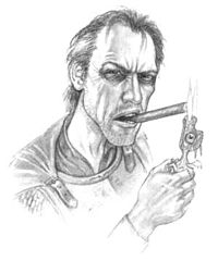 Sam Vimes as envisioned by Paul Kidby