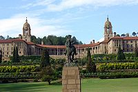 Photo of the Union Buildings