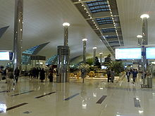 Terminal 3 at Dubai International Airport