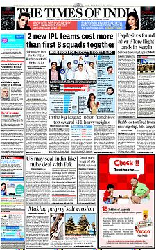 The Times of India cover 03-22-10.jpg