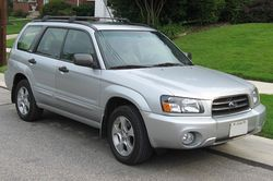 2003-2005 Subaru Forester XS (US)