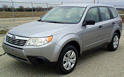 2009 Subaru Forester 2.5X (US)