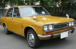"Datsun Bluebird ""SSS"" series 510 sedan"
