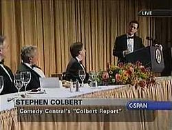 Stephen Colbert At The 2006 White House Correspondents Association