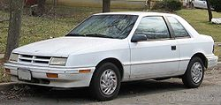 1989-1994 Dodge Shadow 3-door