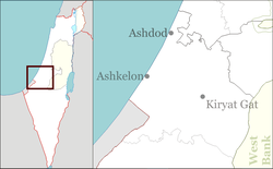Masu'ot Yitzhak is located in Israel
