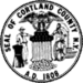 Seal of Cortland County, New York