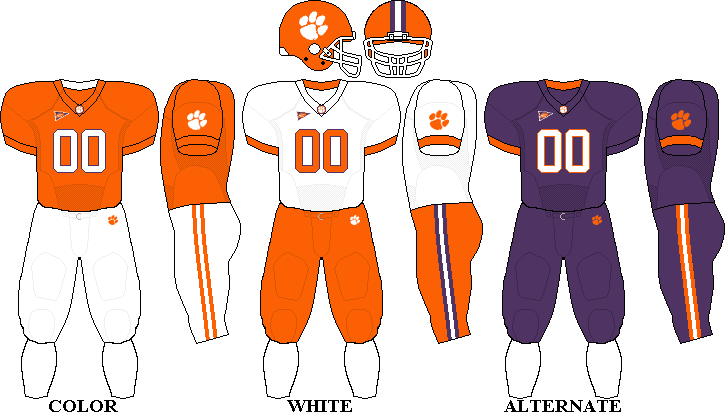 competitive price 296f9 91eed 📌 Clemson Tigers football
