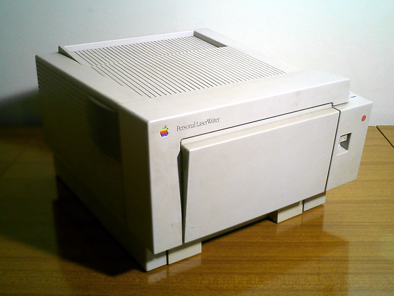 DRIVERS FOR APPLE LASERWRITER NT