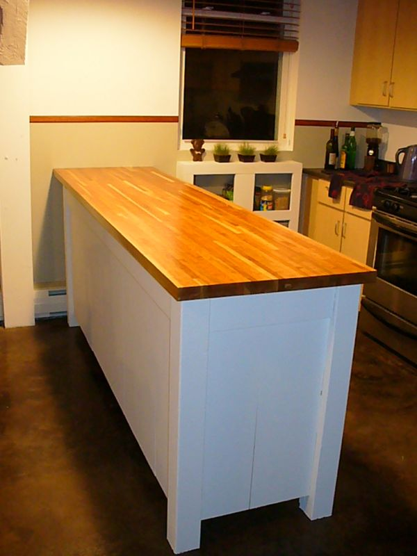 Refinishing Butcher Block Kitchen Table : Butcher block