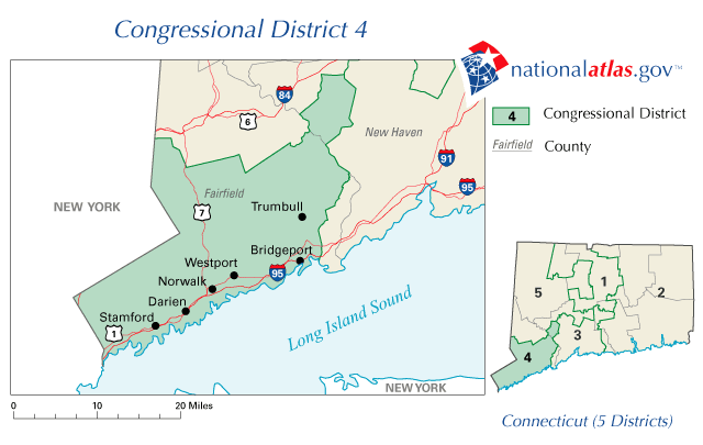 Connecticut\'s 4th congressional district