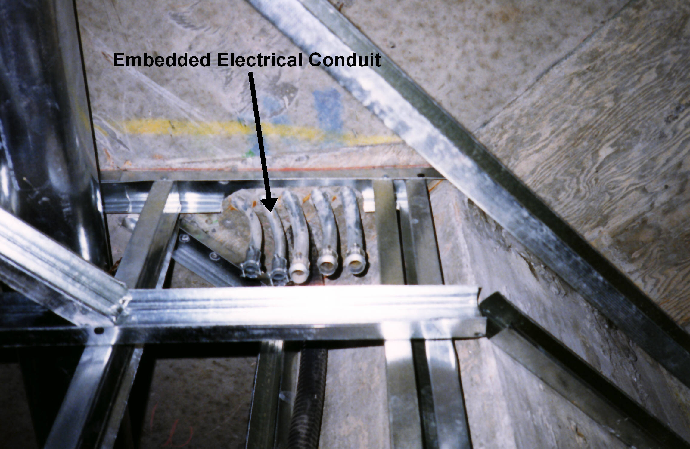 Electrical Conduit Wiring Trough Stainless Steel