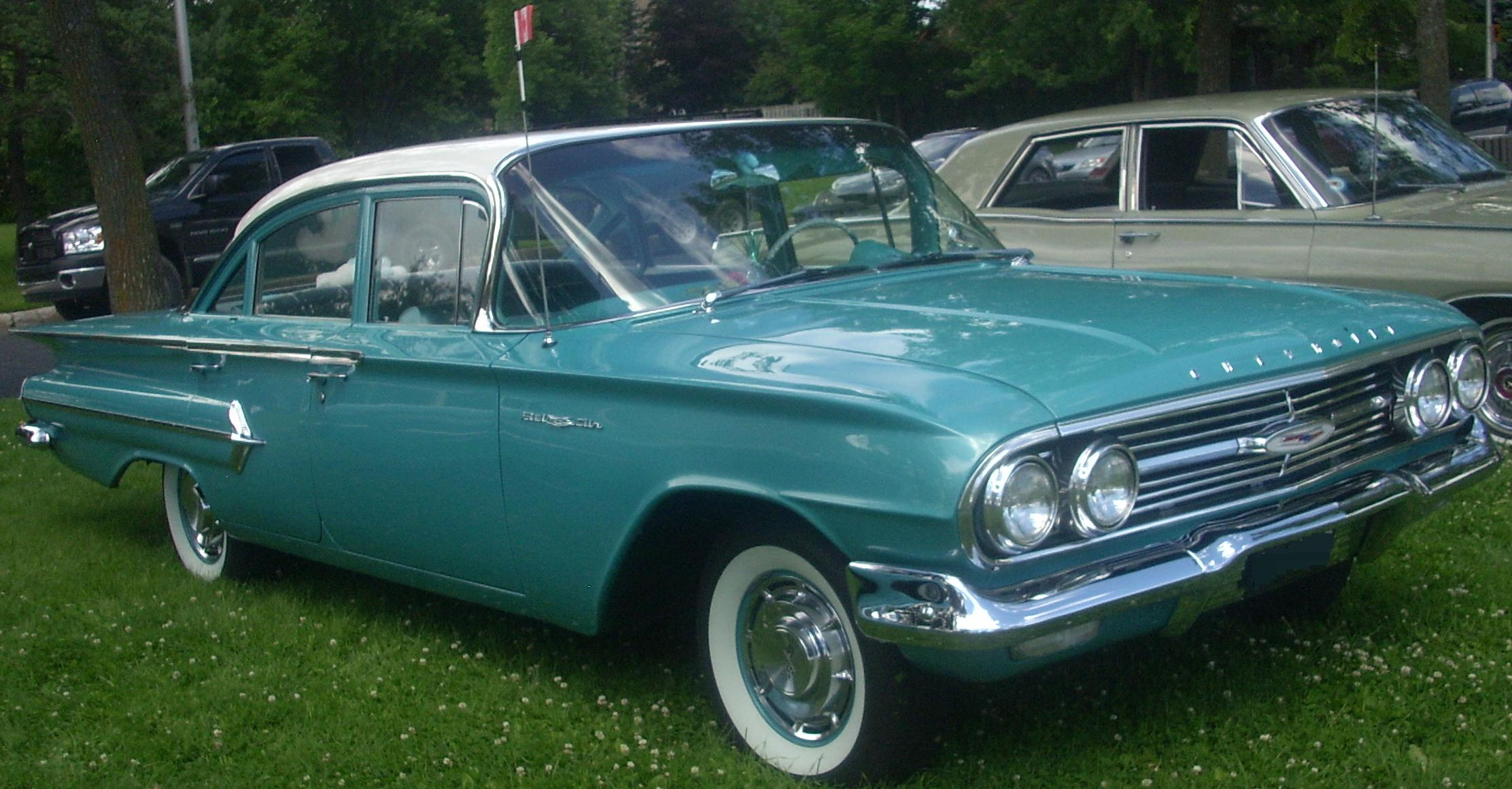 1960 Chevy Biscayne Station Wagon