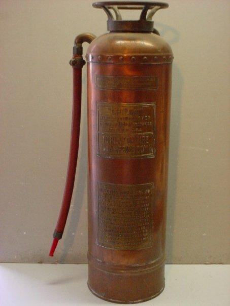 Fire extinguisher for Classic acid