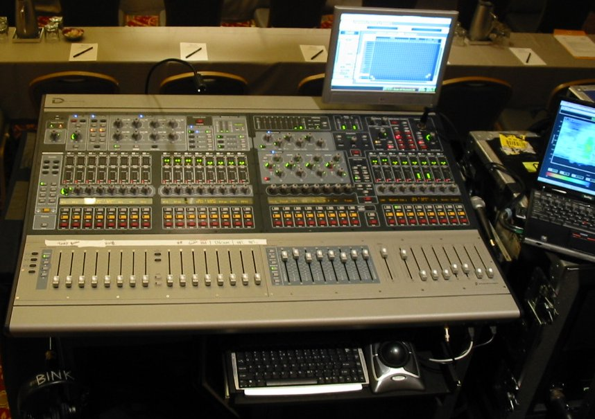 📌 Mixing console