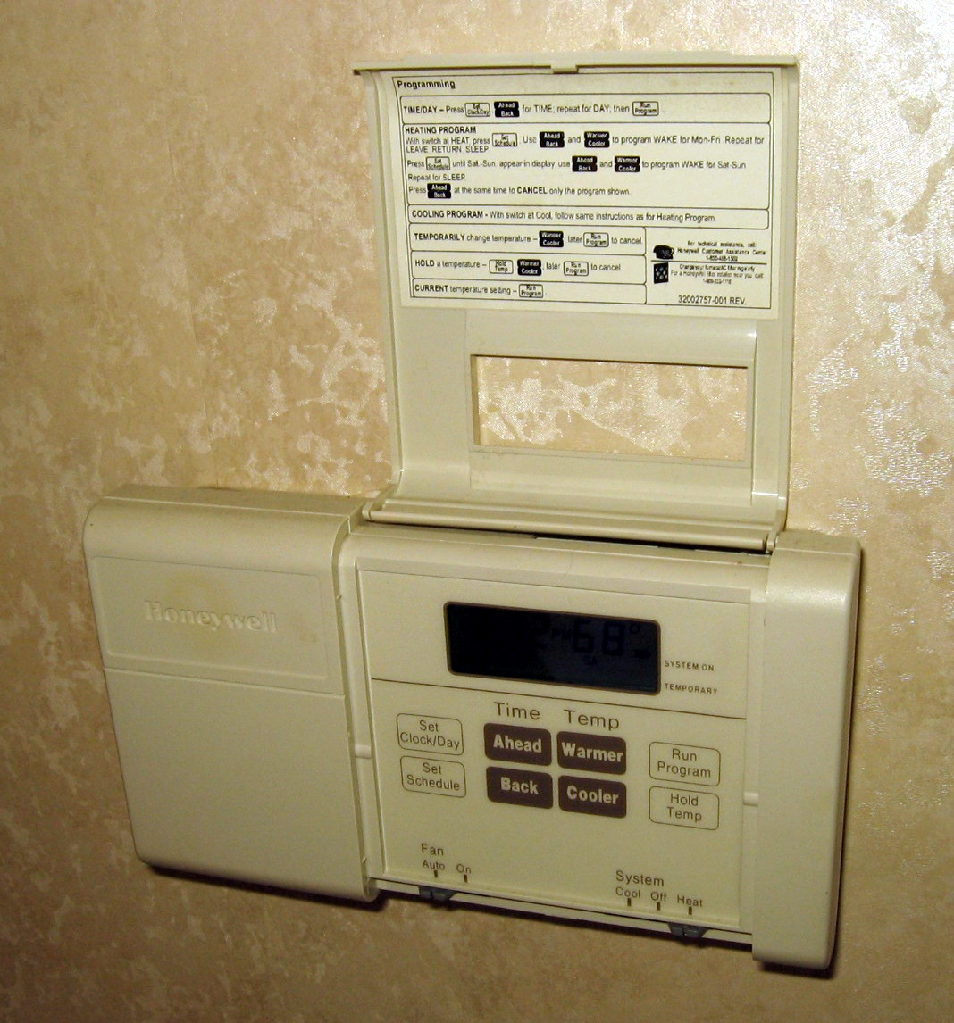 Thermostat Wiring Colors Thermostats Wire Installation Caroldoey