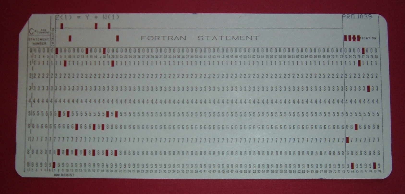 📌 Computer programming in the punched card era