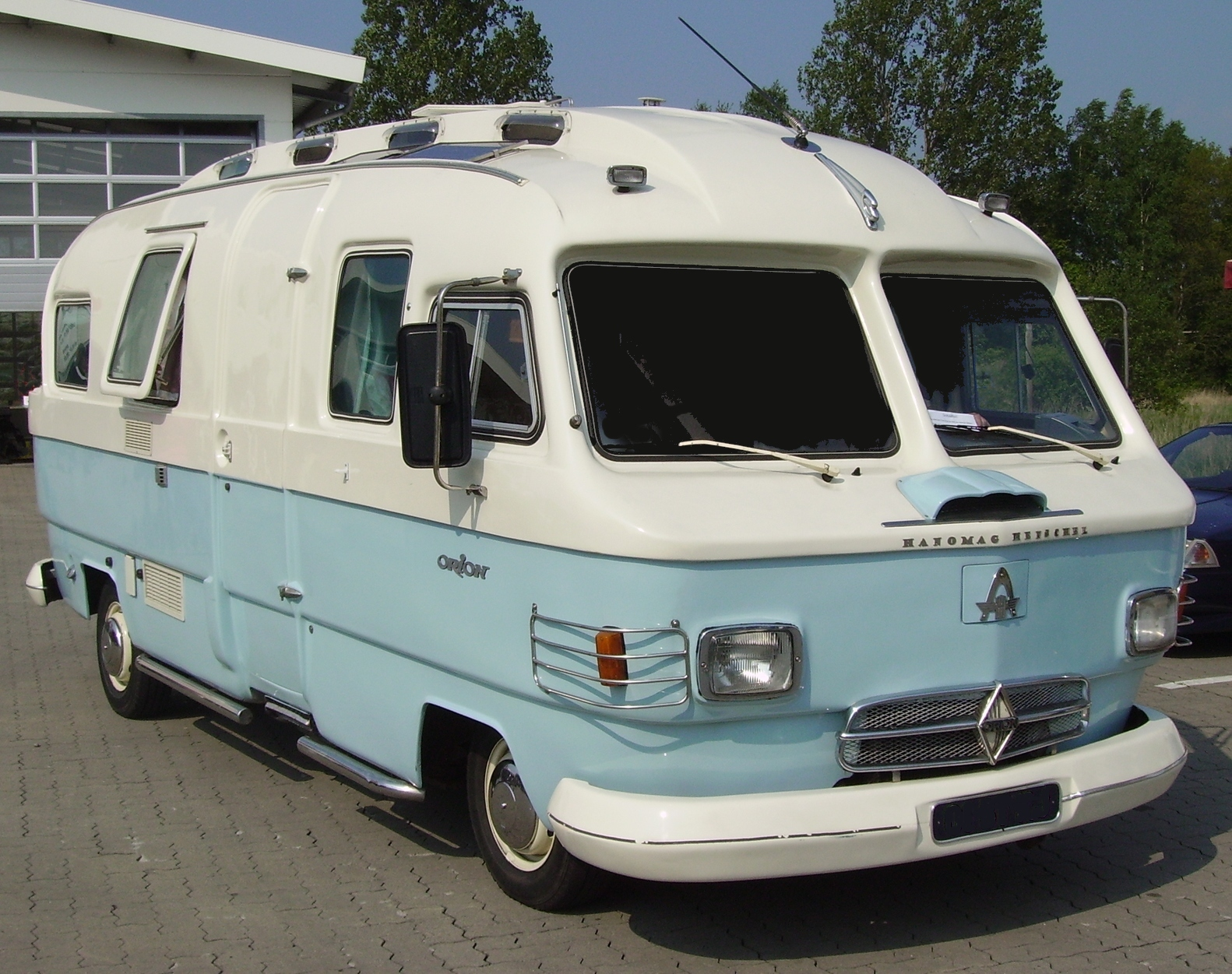Recreational Vehicle 1969 Dodge Camper Van History