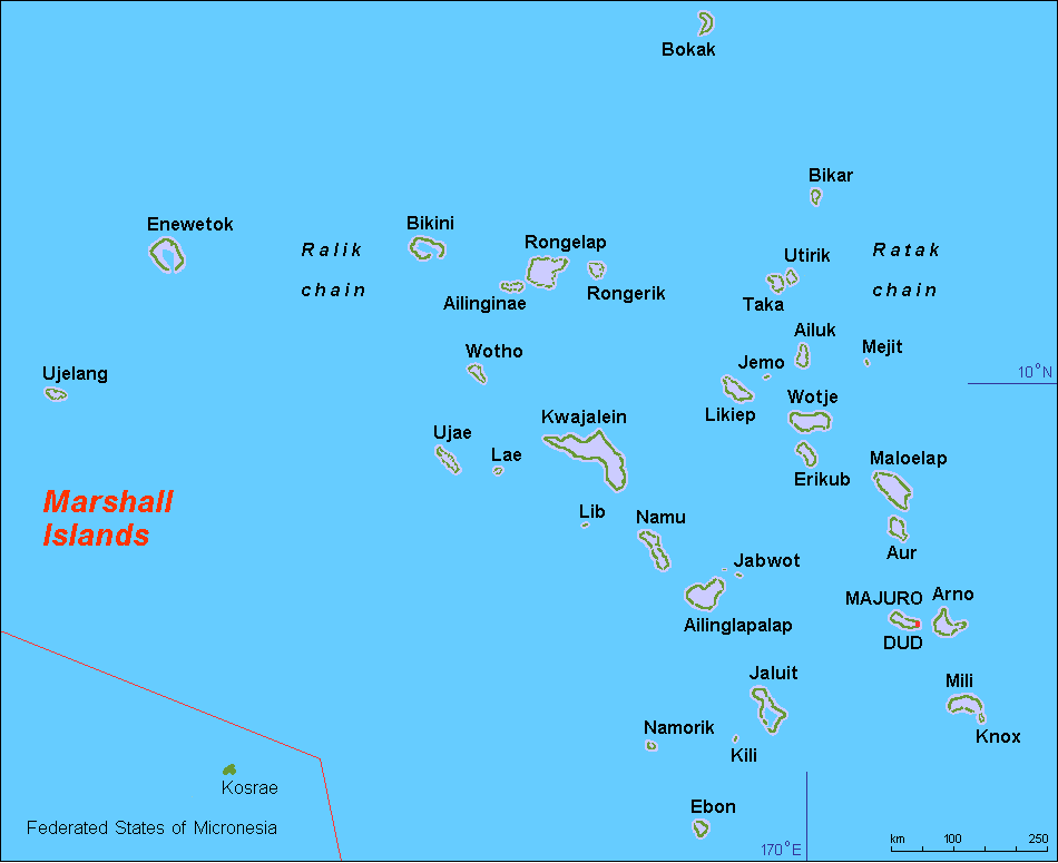 Outline of the Marshall Islands