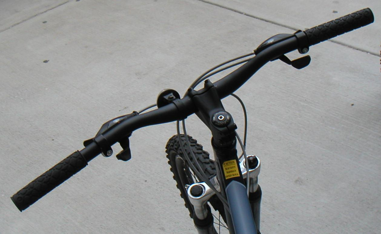 bike handlebar bicycle mountain handlebars types flat rise bafang display riser wikipedia motor file turn side slight