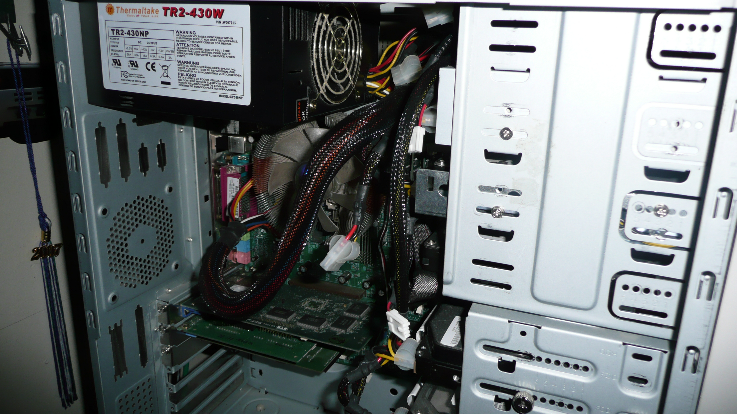Power Supply Unit Computer Atx 24 Pin Wiring Diagram A Typical Installation Of An Form Factor