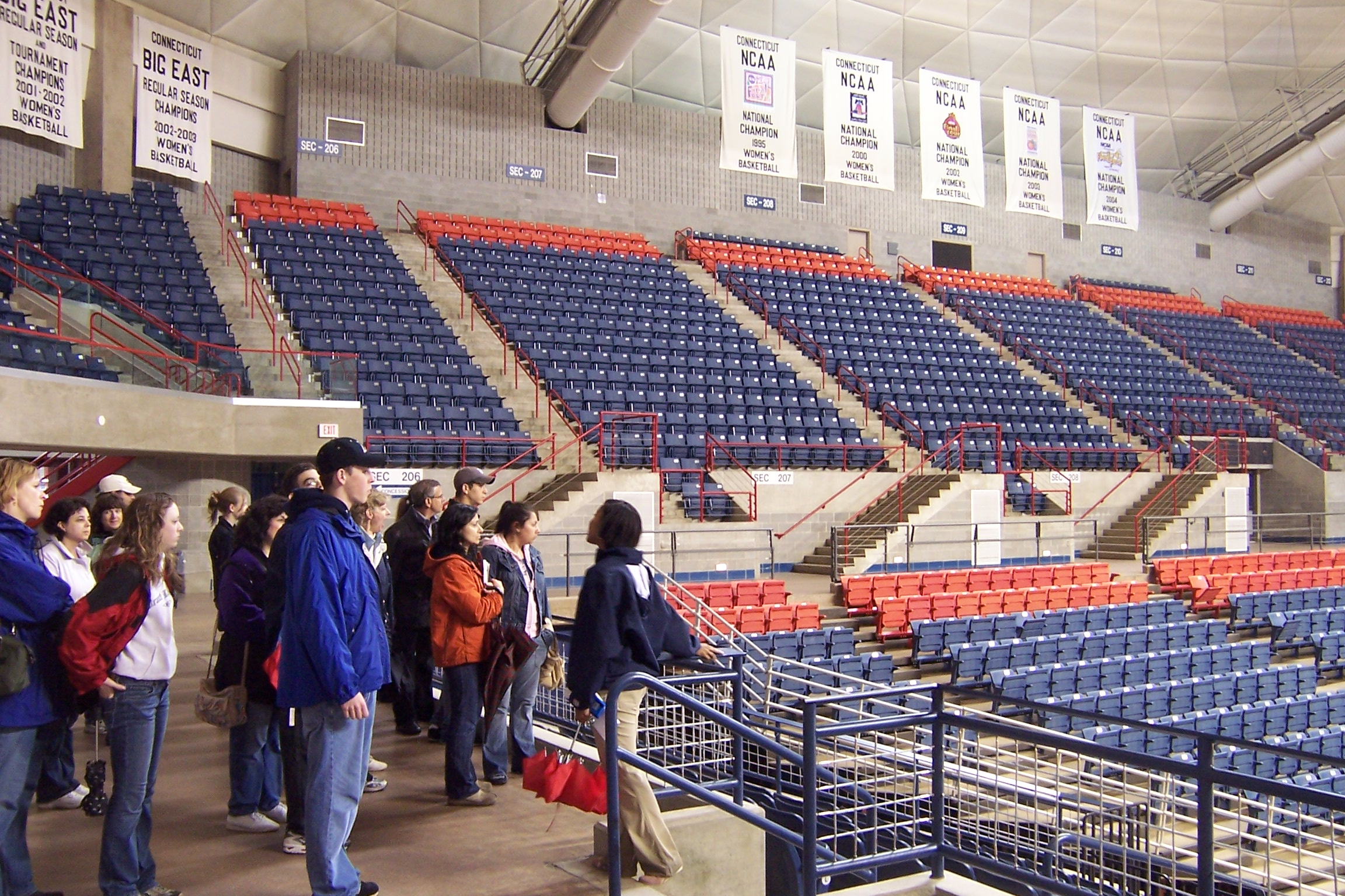 Villanova Pavilion Seating Chart