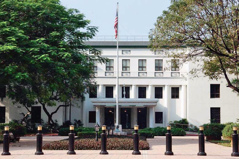 📌 List of diplomatic missions of the United States