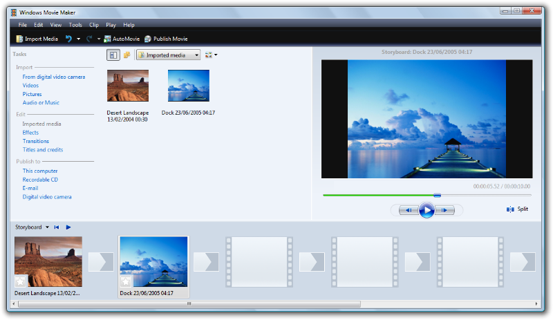 movie maker for windows xp software free download